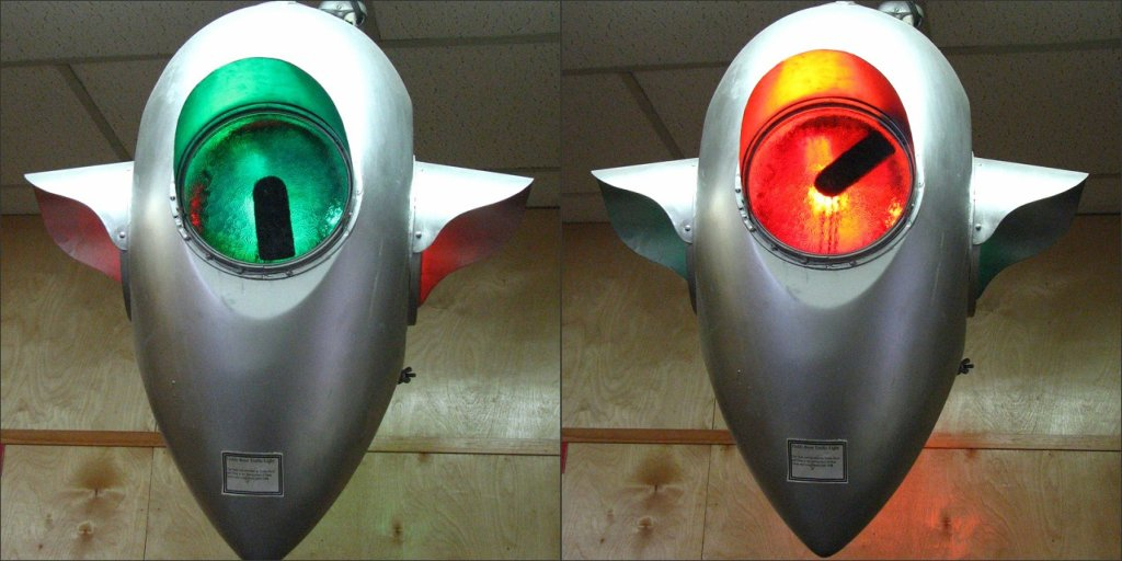 One-of-a-kind Traffic Light