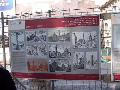 Rome - The Column of Trajan (1906-2006): G. Boni, Esplorazione del Forum Ulpium. Nsc (1907) : 361-427; & M. Bruno / F. Bianchi, La Colonna di Traiano all luce recenti indagini. PBSR 74 (2006) : 293, 320-322.
