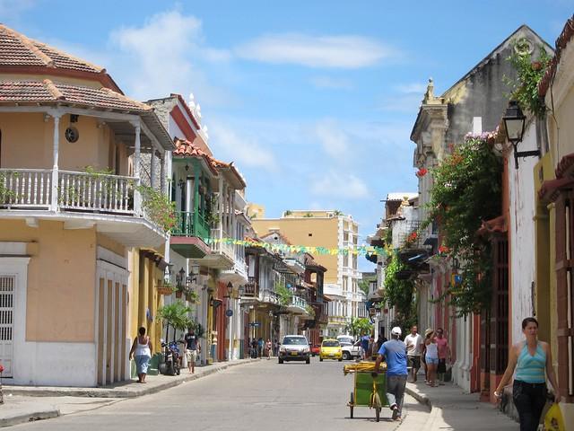 Barrio Getsemani in 2010