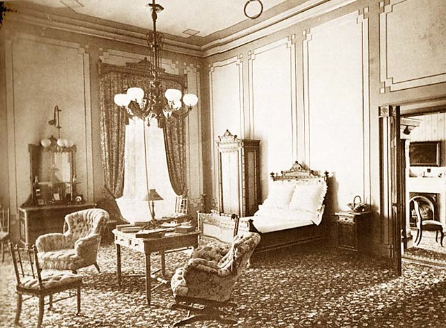 president rutherford b hayes master bedroom white house 1877 flickr