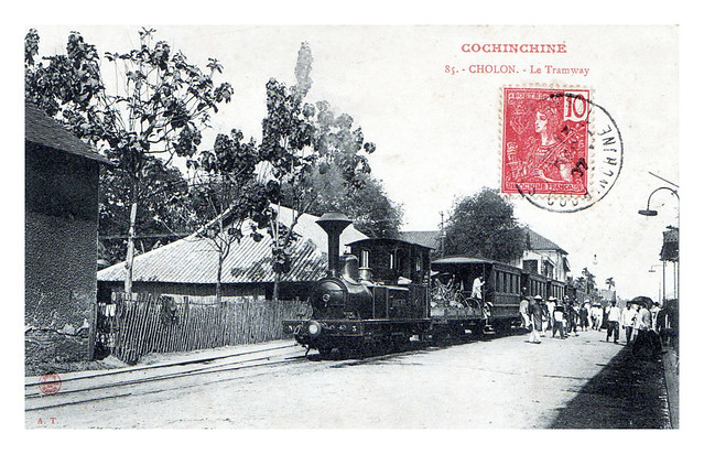 La locomotive n° 3 à Cholon. 1905