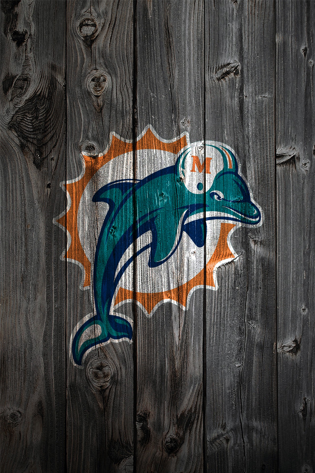 miami dolphins wood iphone 4 background a photo on