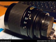 Tokina 500mm F8 (FD)