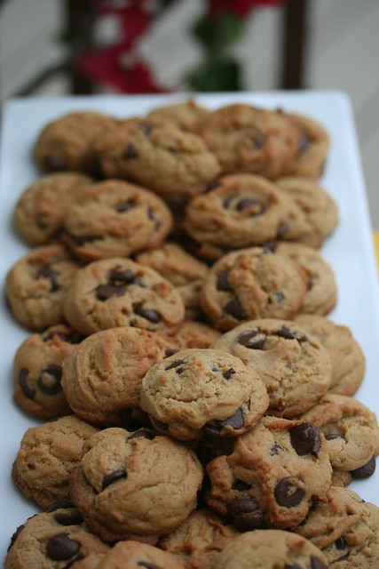 Peanut Butter-Chocolate Chunk Cookies | Flickr - Photo Sharing!