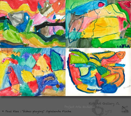 "6 yrs) _1* Paul Klee: ""fishes playing"" /spielende Fische by SeRGioSVoX"