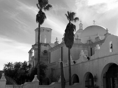 Mission San Xavier del Bac by VasenkaPhotography