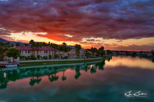 sunset clouds landscape nikon colorful lasvegas nevada hdr topaz d90 photomatix platinumphoto bjornburton