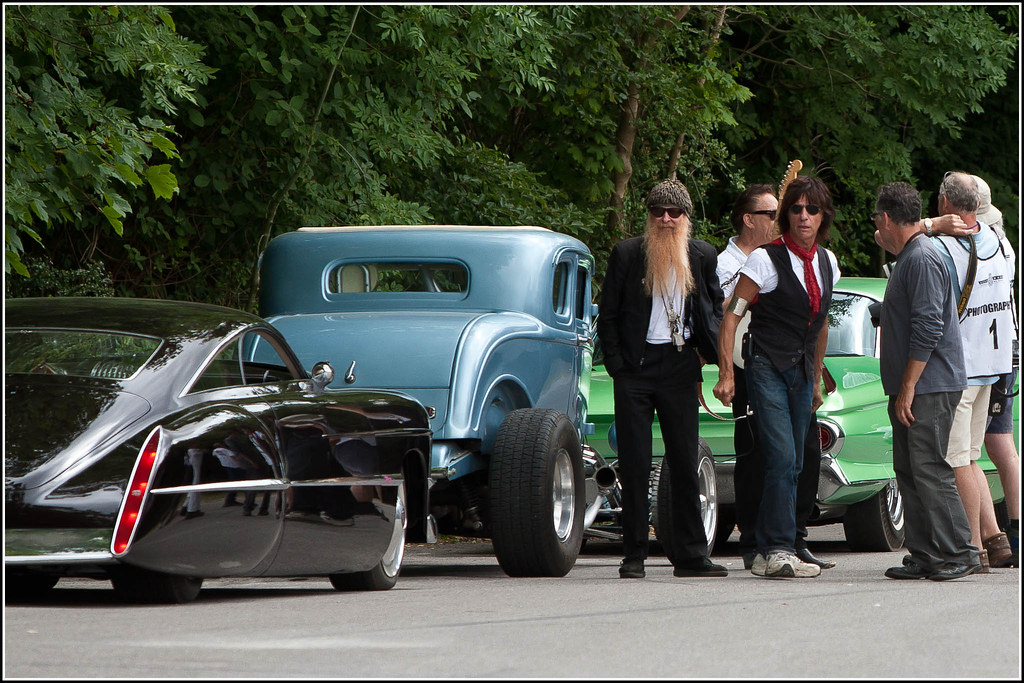 Rock Stars And Cars Rock Gods Billy Gibbons Zz Top Jimm Flickr