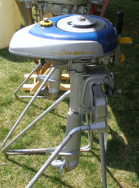Goodyear Sea Bee Outboard Motor Flickr Photo Sharing