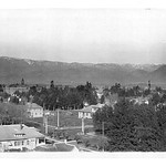 Panorama of the San Bernardino Mountains Encircling the Valley in 1909