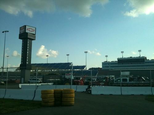 chevrolet racetrack tires infield grandstand newtonia iowaspeedway