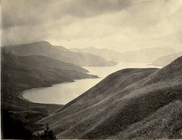 Hakoni Lake, by Felice Beato c.1870