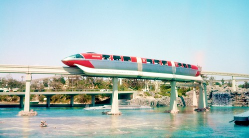 The Monorail - Disneyland 1959