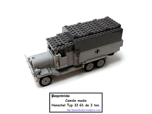 Camión Henschel G33 de Panzerbricks