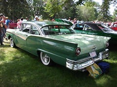 automobile, automotive exterior, 1955 ford, vehicle, antique car, sedan, classic car, land vehicle, luxury vehicle, convertible,
