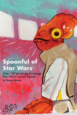 Spoonful of Star Wars postcard (front)