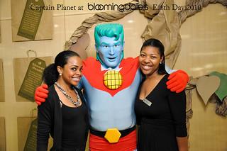 Captain Planet at Bloomingdales