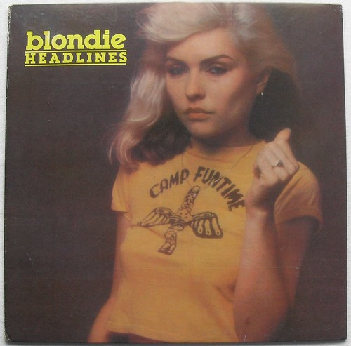 1978 BLONDIE Headlines BOOTLEG Live Record Album DEBBIE HARRY LP Vinyl A