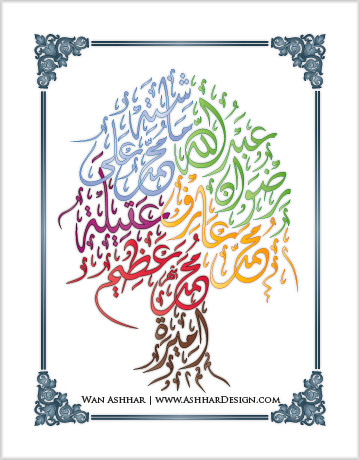 The Online Tool For Arabic Calligraphy