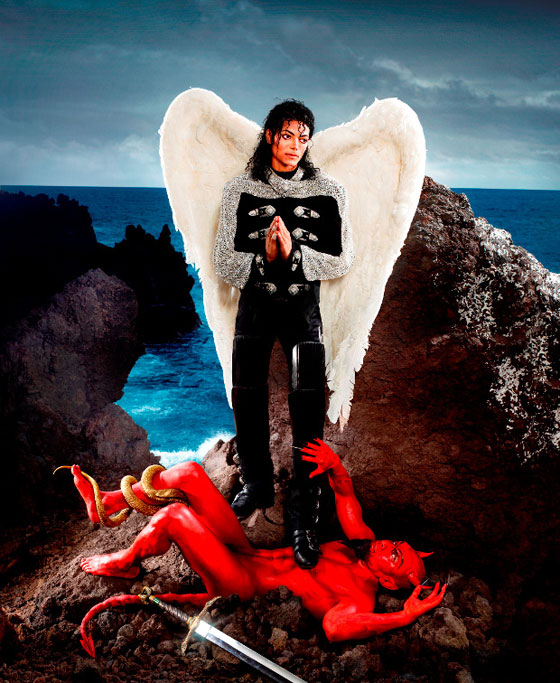 David LaChapelle, Michael Jackson