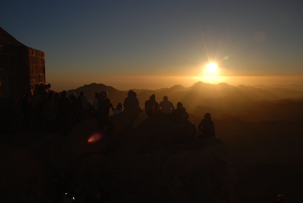 sunrise from MountSinai, Egypt