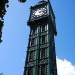 Cast Iron Clock Tower
