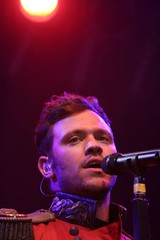 Will Young performing at Castle Concerts 2010