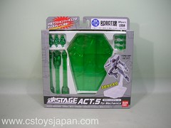 Tamashii Stage ACT.5 for Mechanics -HOLONIC GREEN-