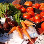 Fresh Vegetables at the Farmer's Market