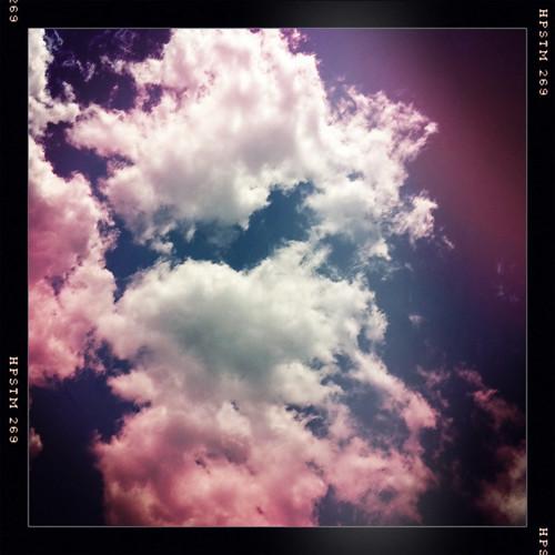 Dark Sunny Day Clouds