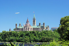 Back of Parliament Buildings