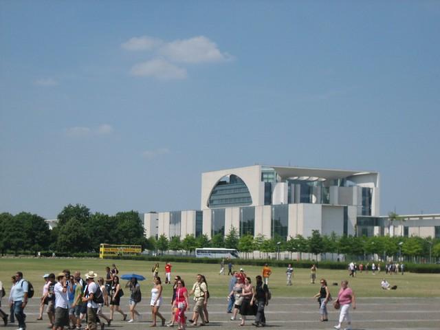 Futuristic Chancellery