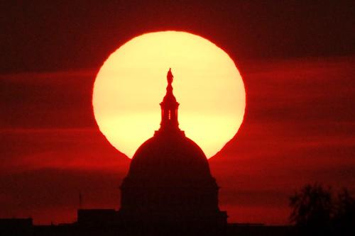 summer sky sun silhouette sunrise washingtondc districtofcolumbia uscapitol dome dcist arlingtoncountyvirginia usairforcememorialgrounds