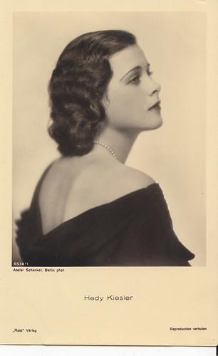 Hedy Kiesler (Lamarr)
