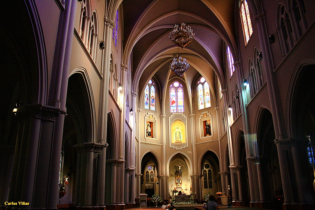 Iglesia De La Milagrosa Calle Garcia De Paredes Madrid Flickr
