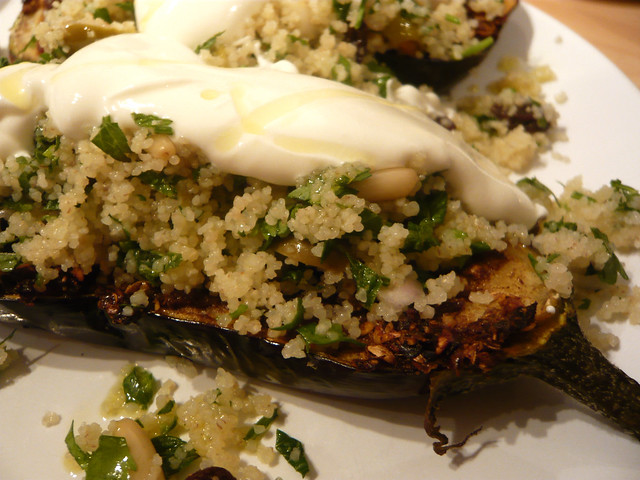 Eggplant and couscous | Flickr - Photo Sharing!