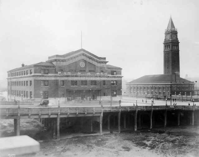 King Street Station and Union Station, Seattle, Washington
