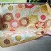 Fresh Cottons Bloom quilt  by mother of 2 miracles
