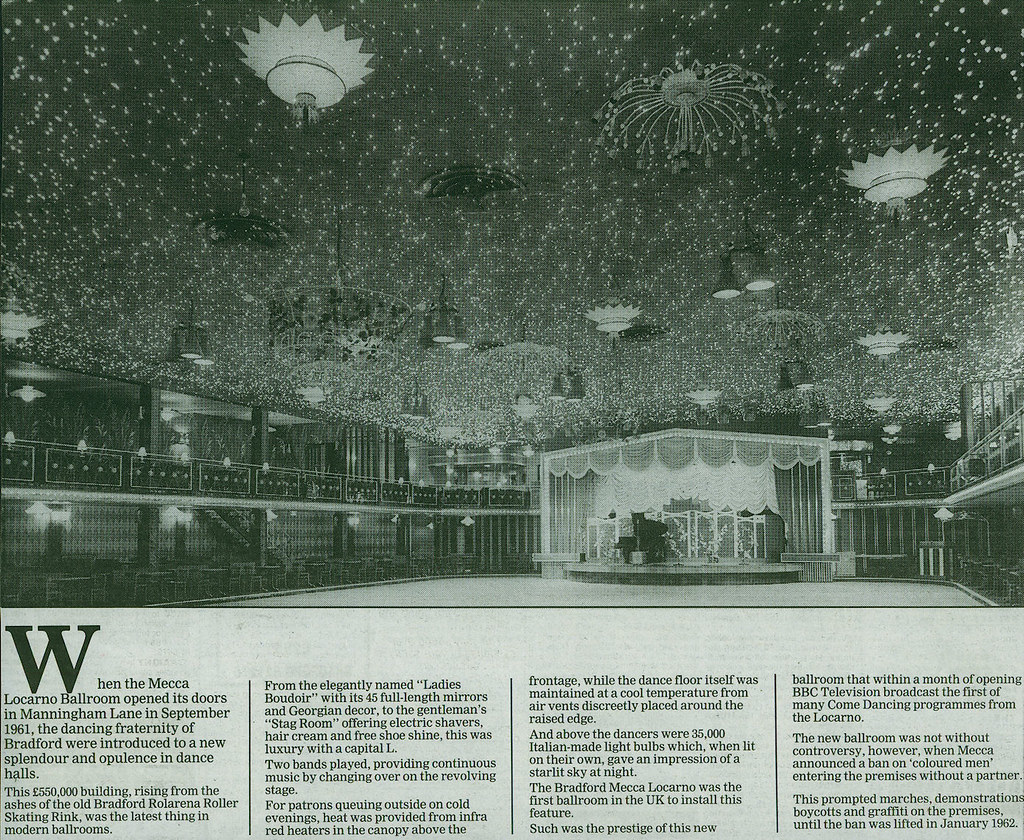 Mecca Ballroom, Manningham Lane, Bradford