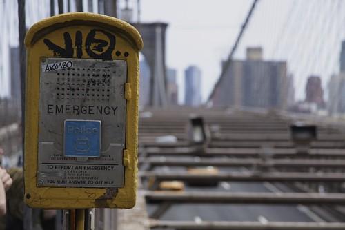 Emergency on Brooklyn Bridge