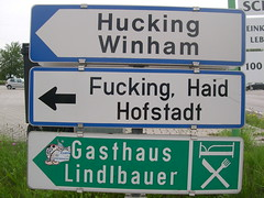 Unusual place names in Germany and Austria