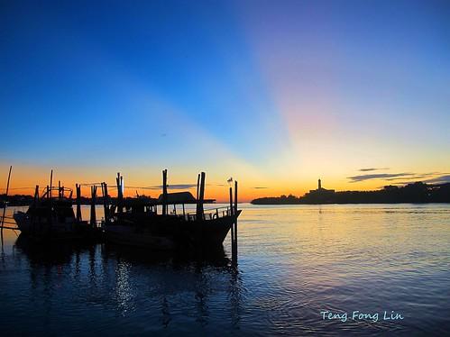 sunset boat muar bandarmaharani tfltfl