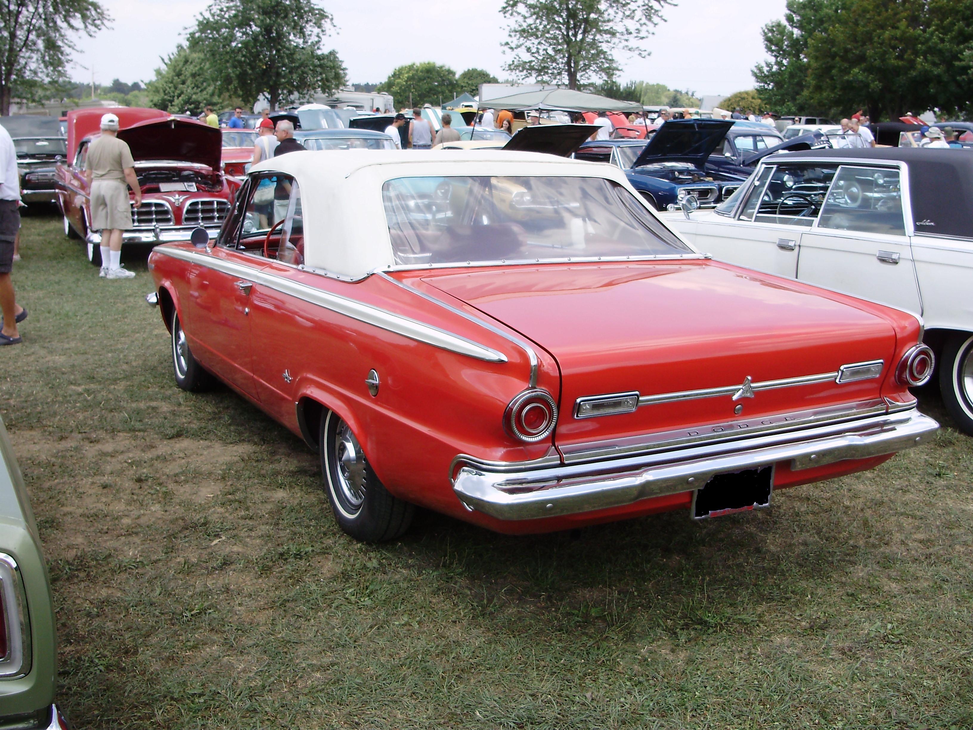 1964 Dodge Dart 1964 dodge dart gt convertible