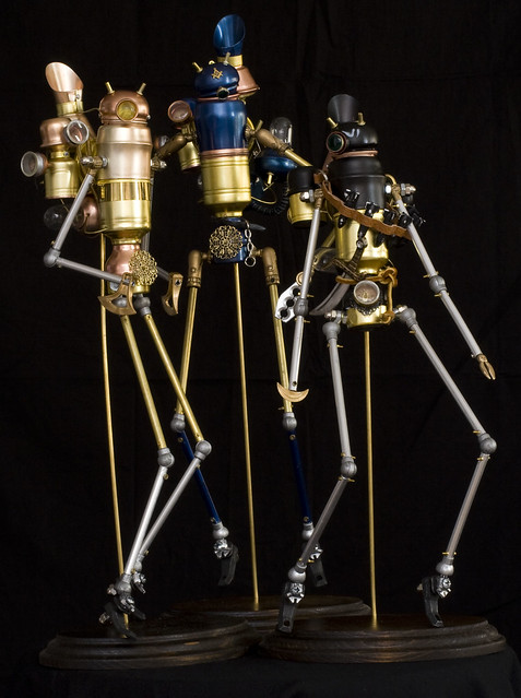 Steampunk Automatons by Boynton