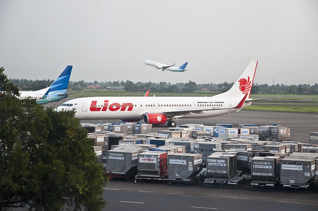 Lion Air and Garuda