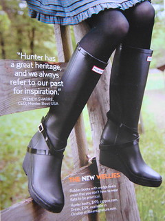 THE Wellies to Wear!
