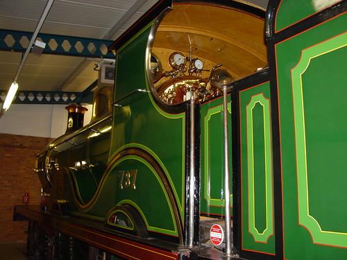 SECR 4-4-0 locomotive No 737