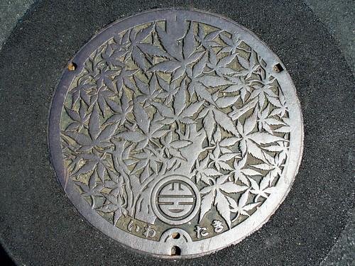 Iwataki Kyoto manhole cover(京都府岩滝町のマンホール)