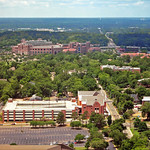 Doak Campbell Stadium from atop State Capitol