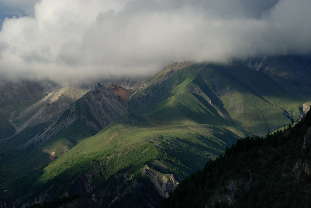 Russie: Sibérie, Raïon de l'Oka, Monts Saïan orientaux